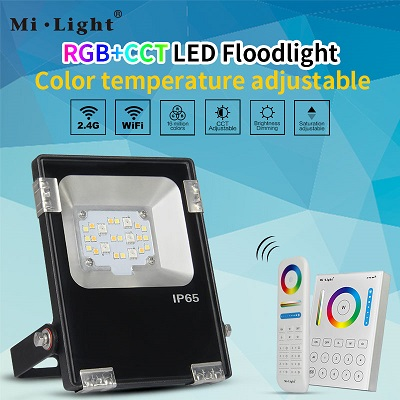 10w led flood light now available for DC voltage-futlight,milight